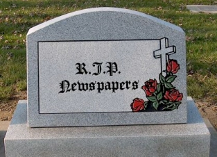 newspaper-headstone